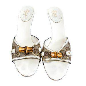 Gucci Bamboo Bit Sandals